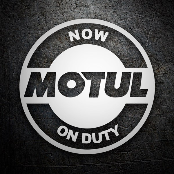 Adesivi per Auto e Moto: Now Motul on Duty