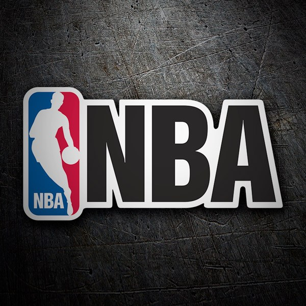 Adesivi per Auto e Moto: NBA (National Basketball Association)