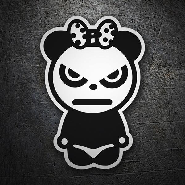 In fibra di vetro resina animale orso panda statua all ingrosso