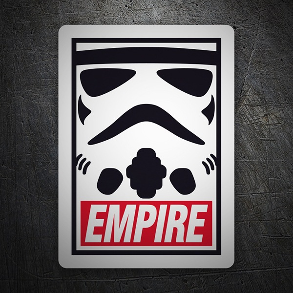 Adesivi per Auto e Moto: Obey Empire (Star Wars)