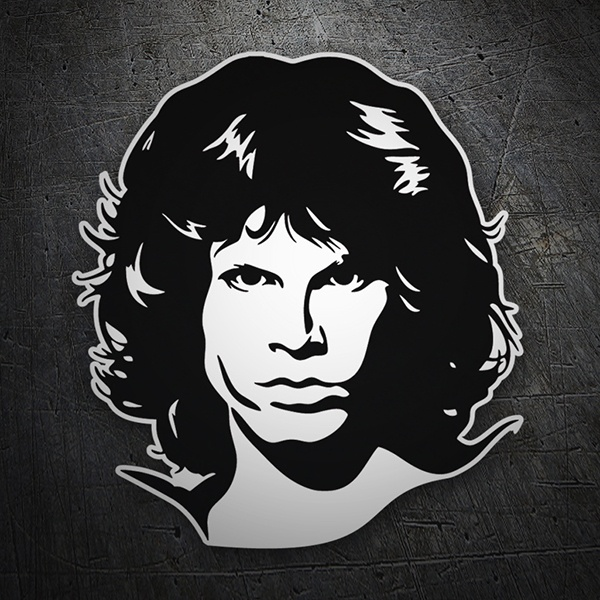 Adesivi per Auto e Moto: Jim Morrison The Doors