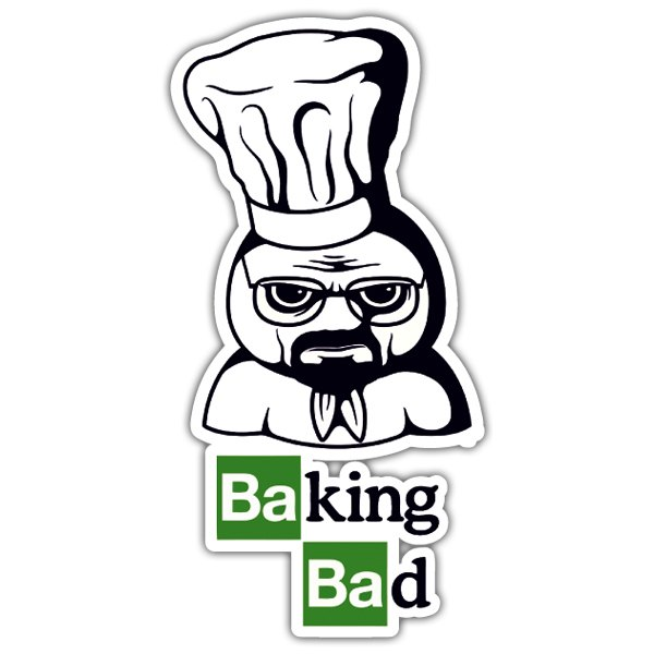 Adesivi per Auto e Moto: Breaking Bad Pillsbury Doughboy