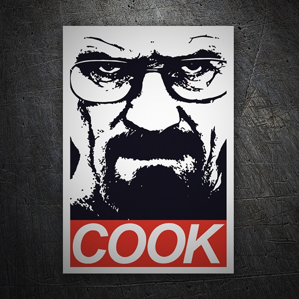 Adesivi per Auto e Moto: Breaking Bad Cook