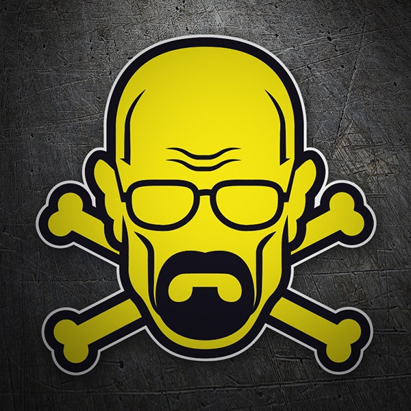 Adesivi per Auto e Moto: Breaking Bad Pirata