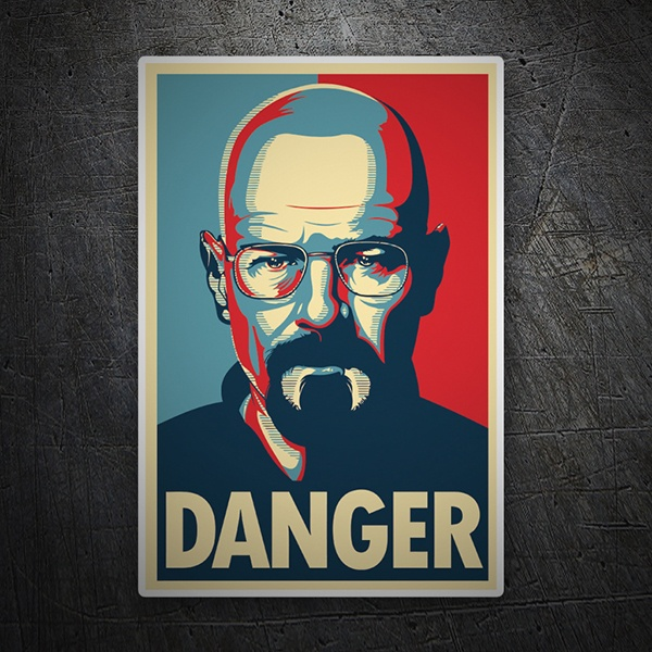 Adesivi per Auto e Moto: Breaking Bad Danger