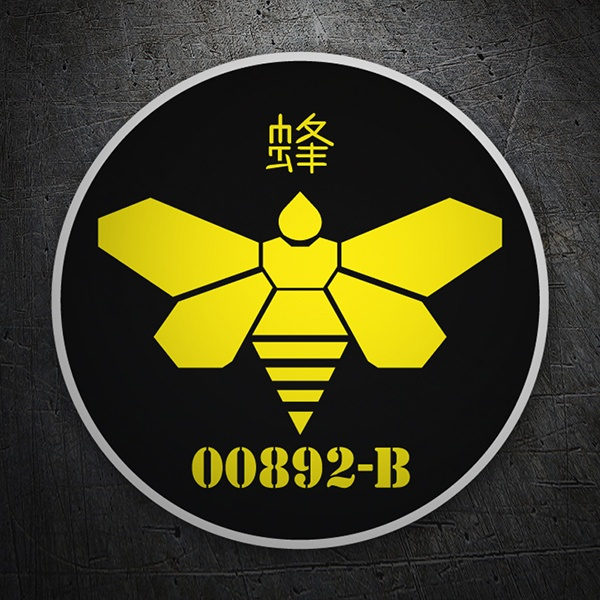 Adesivi per Auto e Moto: Breaking Bad Japan Bee