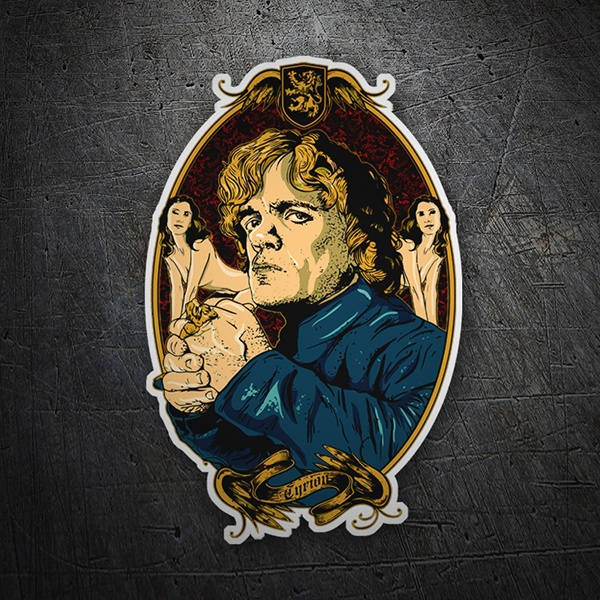 Adesivi per Auto e Moto: Game of Thrones Tyrion Girls