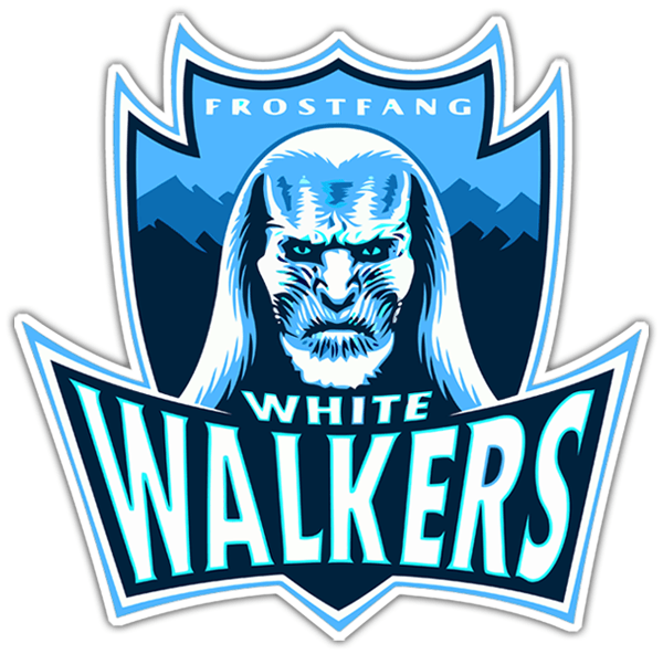 Adesivi per Auto e Moto: Game of Thrones White Walkers