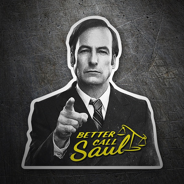 Adesivi per Auto e Moto: Breaking Bad Better call Saul