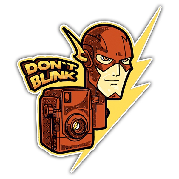 Adesivi per Auto e Moto: Flash Don't Blink