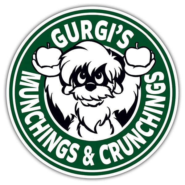Adesivi per Auto e Moto: Gurgi Munchings and Crunchings