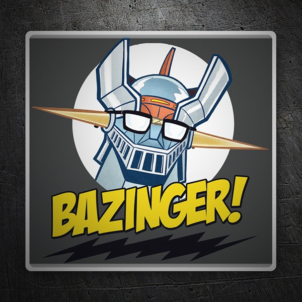 Adesivi per Auto e Moto: Mazinger Z a The Big Bang Theory