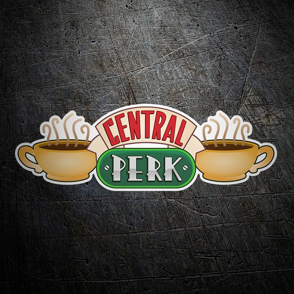 Adesivi Murali: Central Perk - Friends