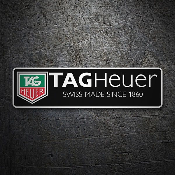 Adesivi per Auto e Moto: Tag Heuer Swiss Made Since 1860