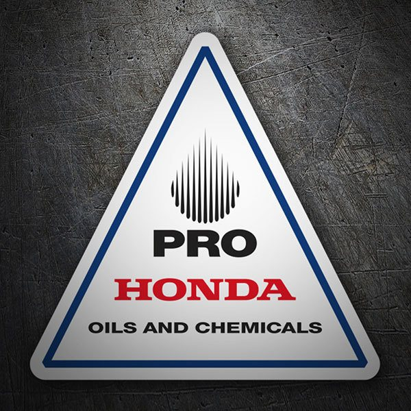 Adesivi per Auto e Moto: Pro Honda Oils and Chemicals 1