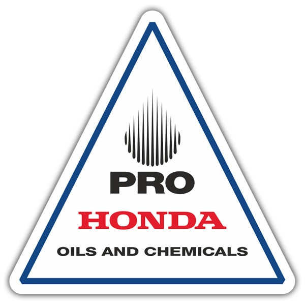 Adesivi per Auto e Moto: Pro Honda Oils and Chemicals