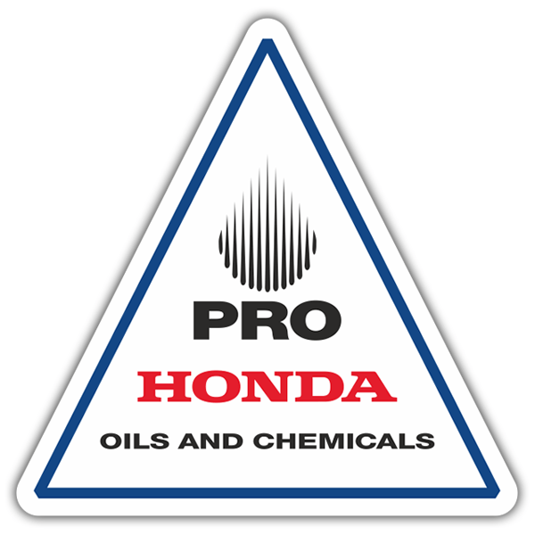 Adesivi per Auto e Moto: Pro Honda Oils and Chemicals 0