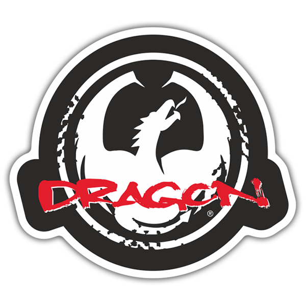 Adesivi per Auto e Moto: Dragon Alliance Logo