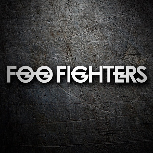 Adesivi per Auto e Moto: Foo Fighters