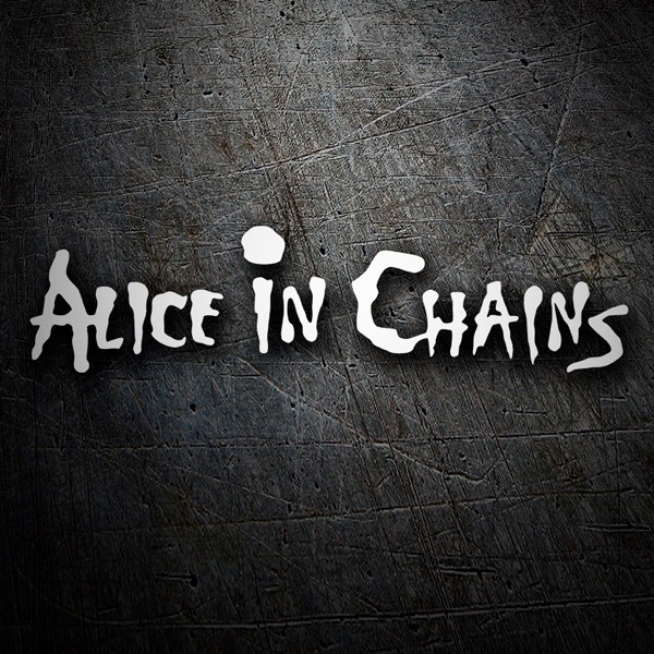 Adesivi per Auto e Moto: Alice in Chains