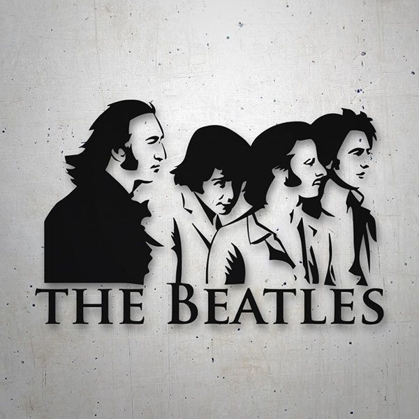 Adesivi per Auto e Moto: The Beatles Classic