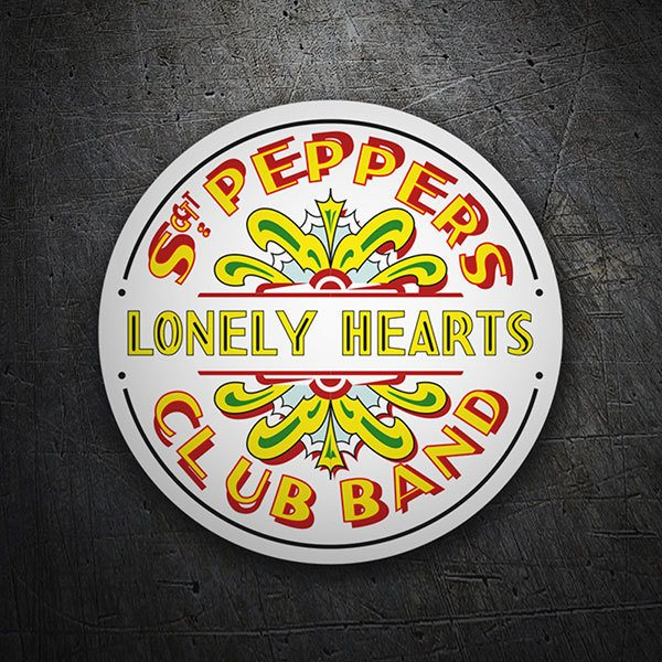 Adesivi per Auto e Moto: Sgt. Pepper's Lonely Hearts Club Band