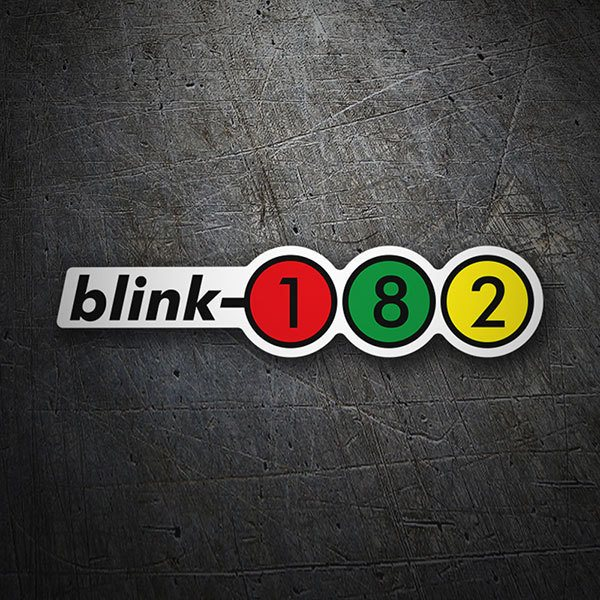 Adesivi per Auto e Moto: Blink 182 Retro Alternative