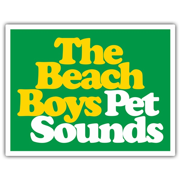 Adesivi per Auto e Moto: The Beach Boys Pet Sounds