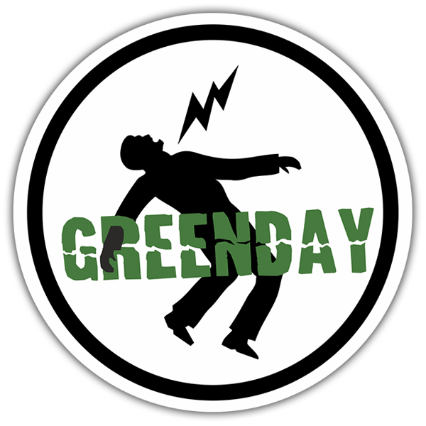 Adesivi per Auto e Moto: Green Day Danger