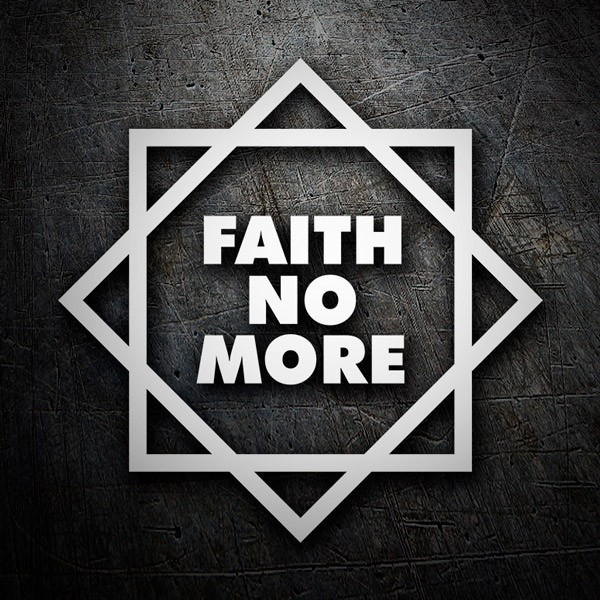 Adesivi per Auto e Moto: Faith No More Classic