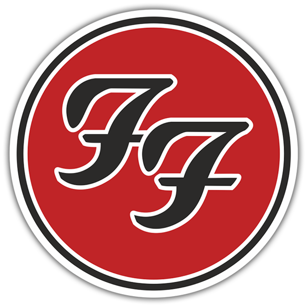 Adesivi per Auto e Moto: Foo Fighters Logo