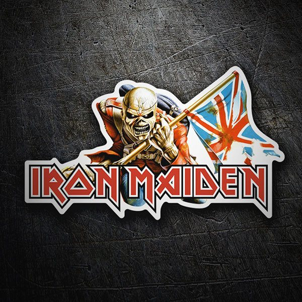 Adesivi per Auto e Moto: Iron Maiden - The Trooper 1