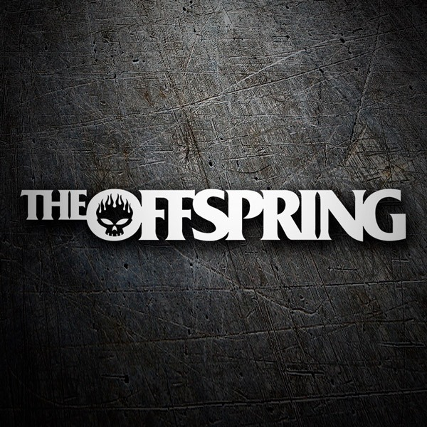 Adesivi per Auto e Moto: The Offspring Logo