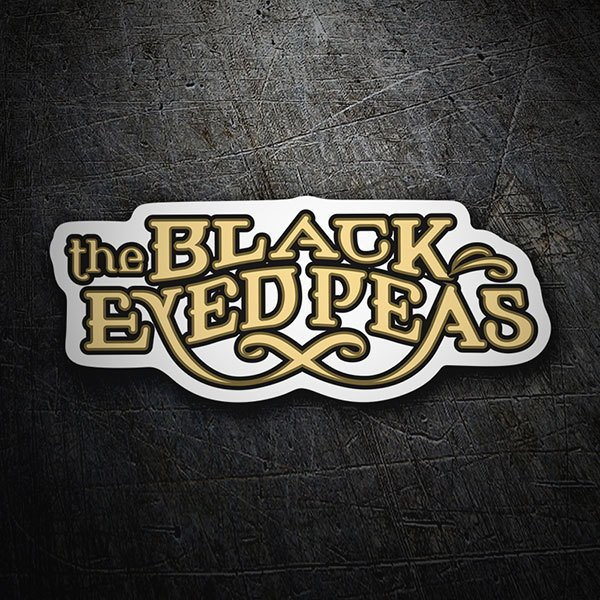 Adesivi per Auto e Moto: The Black Eyed Peas Logo