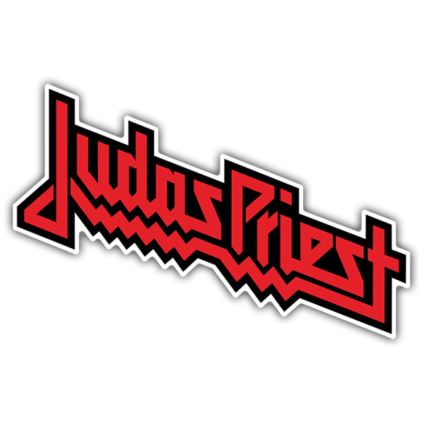 Adesivi per Auto e Moto: Judas Priest color
