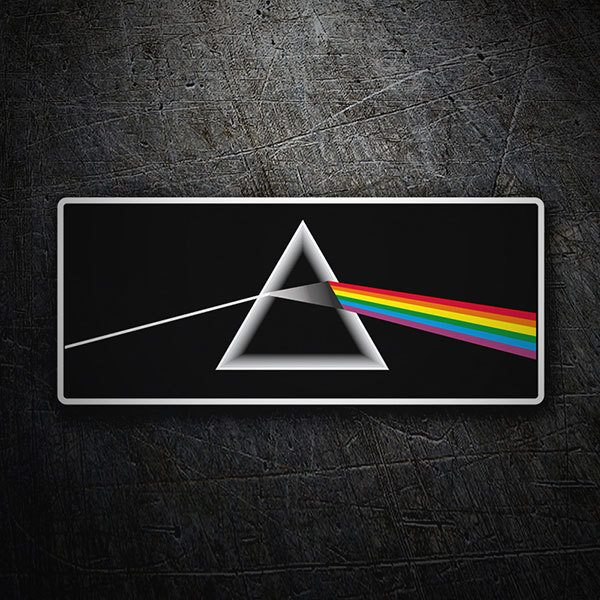 Adesivi per Auto e Moto: Pink Floyd - The Dark Side of the Moon