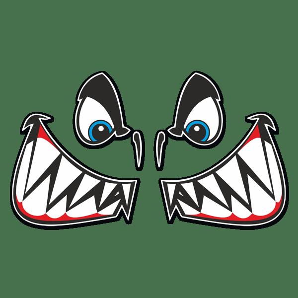 adesivo SQUALO SHARK TIBURÓN   sticker aufkleber pegatina