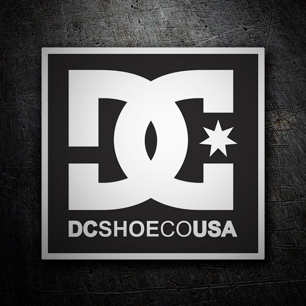 Adesivi per Auto e Moto: DC Shoes USA