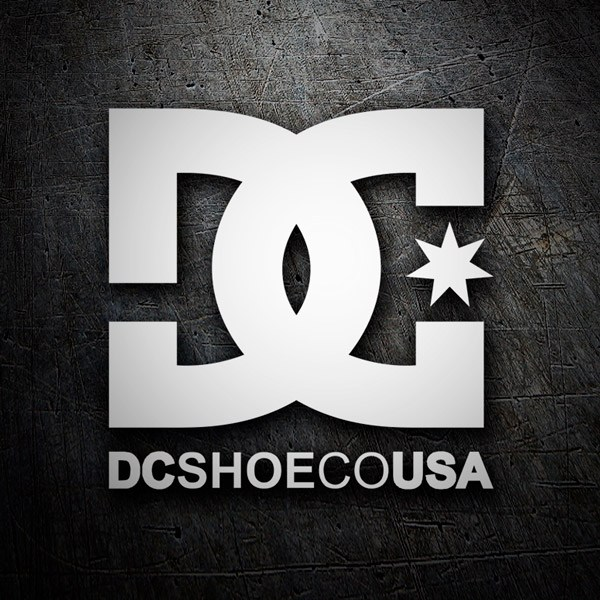 Adesivi per Auto e Moto: DC SHOE CO USA 2