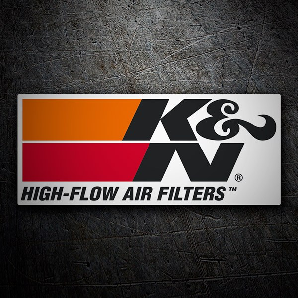 Adesivi per Auto e Moto: K&N High-Flow Air Filters