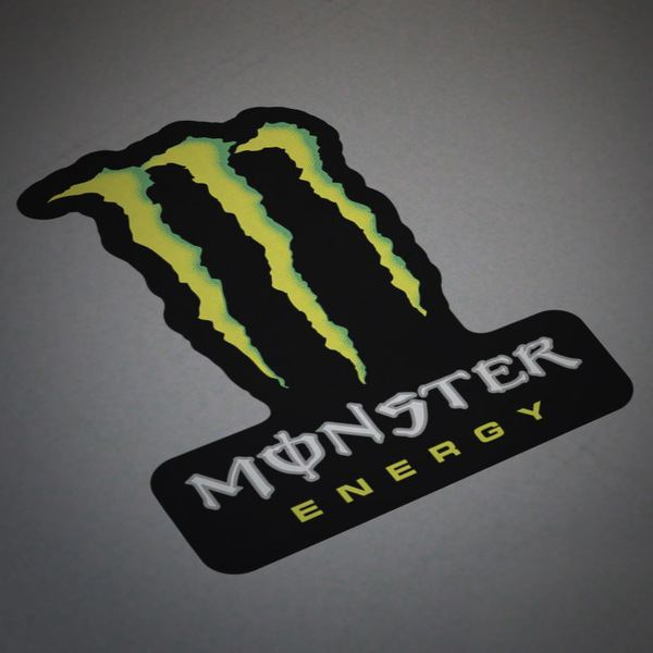 Adesivi per Auto e Moto: Monster Energy 3