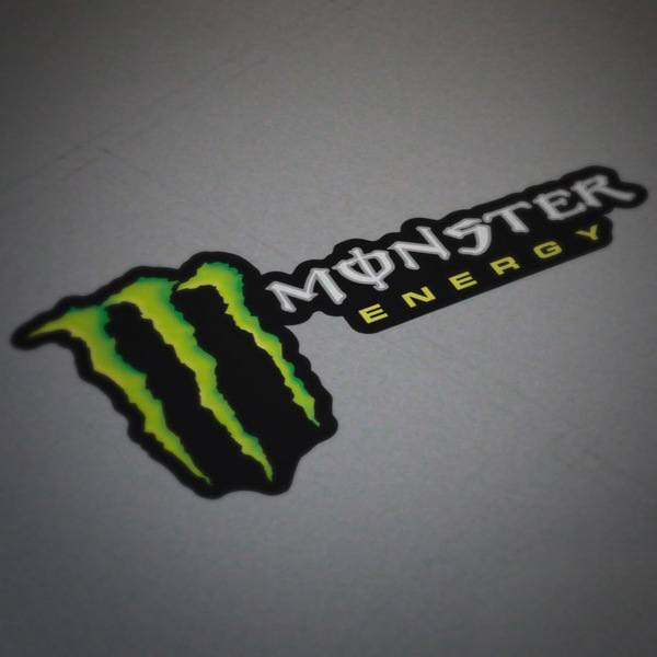 Adesivi per Auto e Moto: Monster Energy 4