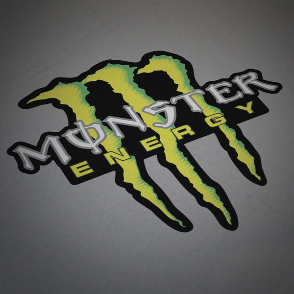 Adesivi per Auto e Moto: Monster Energy 5
