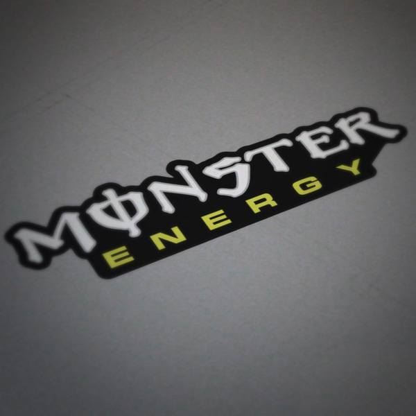 Adesivi per Auto e Moto: Monster Energy 6