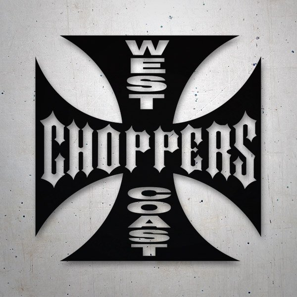 Adesivi per Auto e Moto: West Choppers Coast