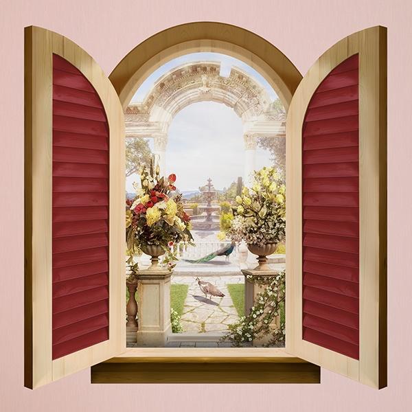 Finestra arco romano - Finestra a due archi ...