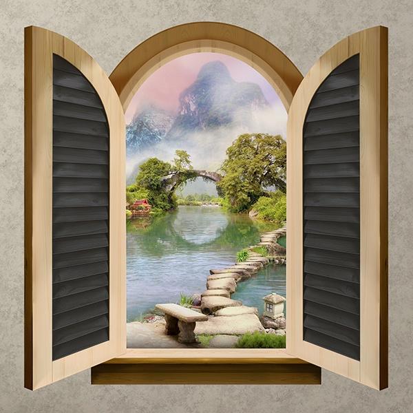 Finestra lago orientale for Finestra 50x100