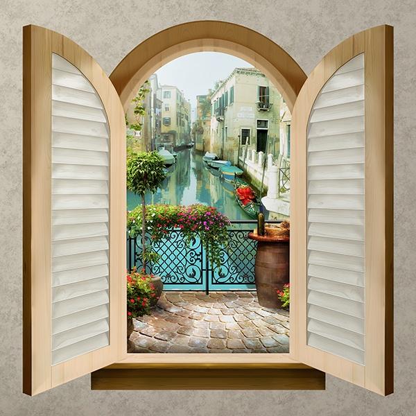 Finestra balcone a venezia for Finestra balcone