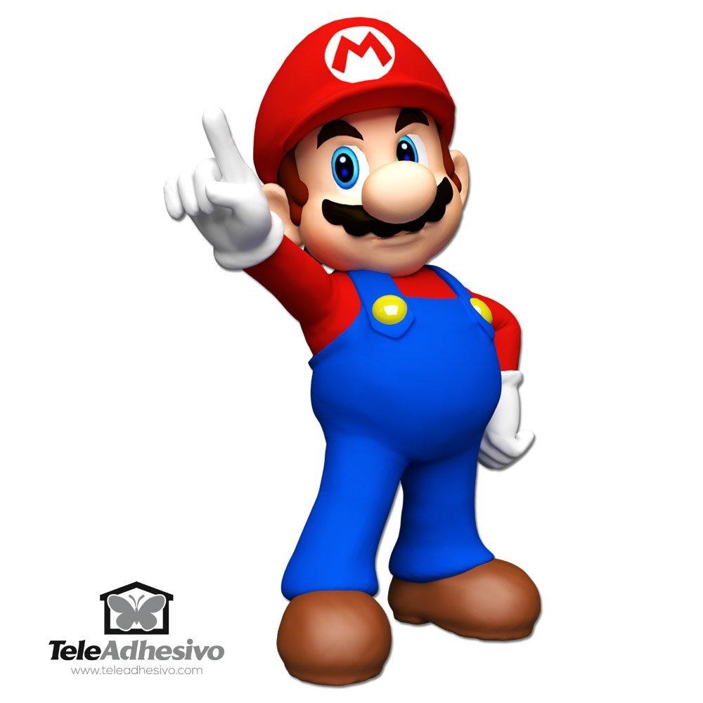 Adesivi Murali Super Mario Bros.Adesivo Murale Bambini Super Mario Bros Stickersmurali Com