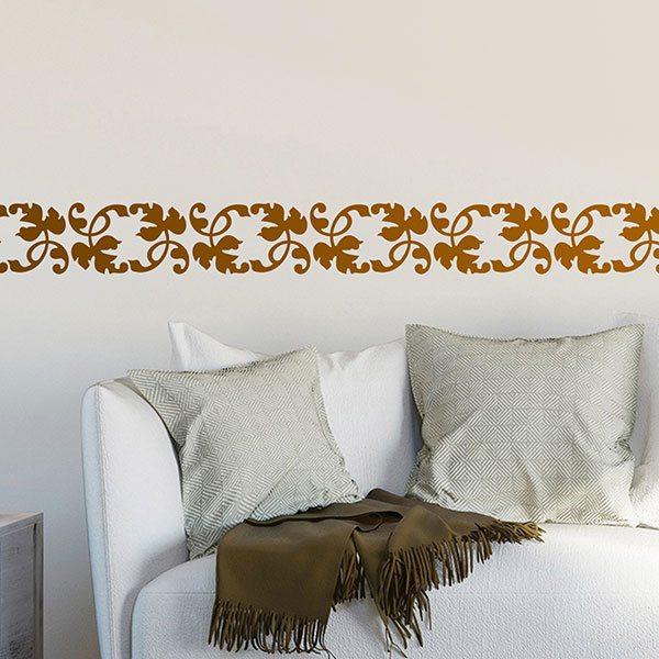 Bordo adesivo murale for Bordi decorativi